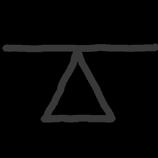 hand drawn balance board